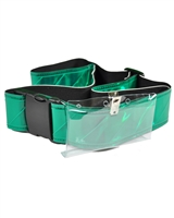 Re-Flex Vinyl Belts: Heavy-Duty with Quick-Release Buckle & ID Holder