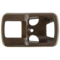 Front Door Interior Lever Trim Plate - Brown - Vanagon