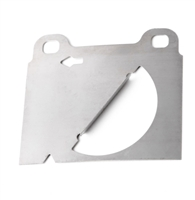 Brake Pad Backing Plate - Girling - Left (Driver) Side - Vanagon 80-85