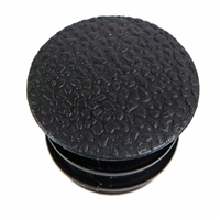 Headrest Guide Tube Cap - Black - Transporter 75-79