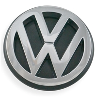 "Rear Hatch Emblem - ""VW"" - Chrome - Vanagon 88-92"