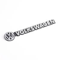 "Emblem For Rear Hatch - ""Volkswagen"" - Chrome - Vanagon 83-87"