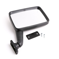 Side Mirror with Convex Glass - Manual - Left (Driver) Side - Vanagon