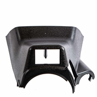 Steering Column Cover - Upper w/ Switch Hole - Black - Vanagon
