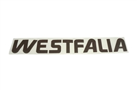 Westfalia Decal - Brown - Vanagon Westfalia 80-86