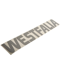 Westfalia Roof Decal - Silver - Vanagon Westfalia