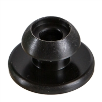 Ball Knob for Sliding Door Curtain - Black - Vanagon Westfalia