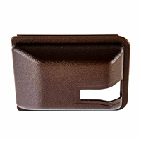 Sliding Door Latch Cover - Brown - Vanagon 80-84