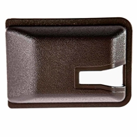 Sliding Door Latch Cover - Brown - Vanagon