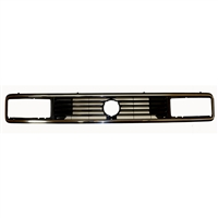Upper Radiator Grill - Vanagon 86-92 Rectangular Headlights with Chrome Trim