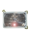 Headlight Lens - Right (Passenger) Side Low Beam - Vanagon 86-92