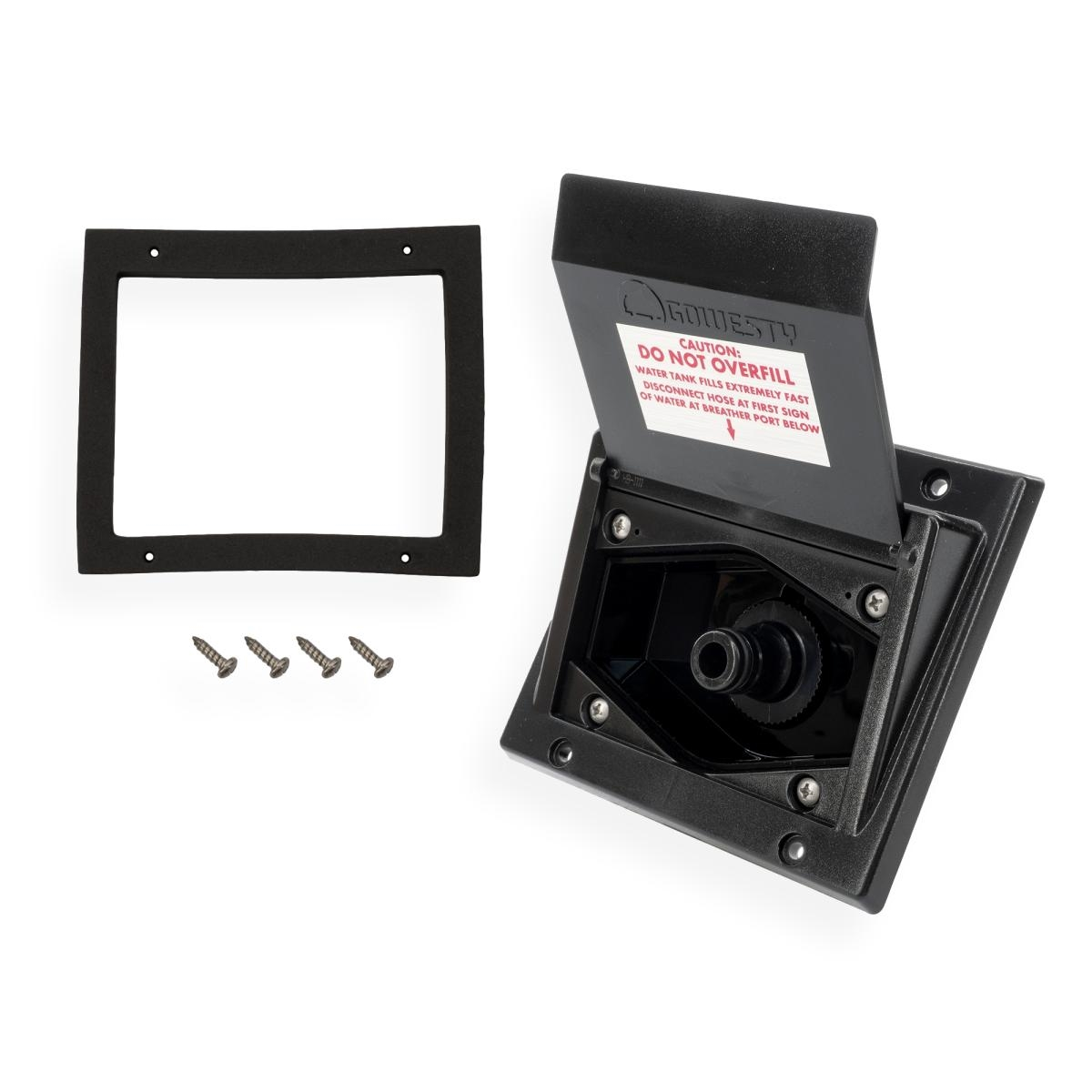 Hook-Up Box w/ Quick-Connect Outlet - Water Tank Filler - Vanagon Westfalia
