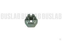 Nut for Tie Rod End - Slotted - M12x1.5 - Grade 22H - Every Vanagon