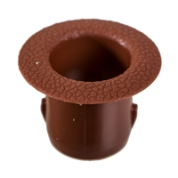 Headrest Guide Tube - Brown - Champagne Transporter 75-79