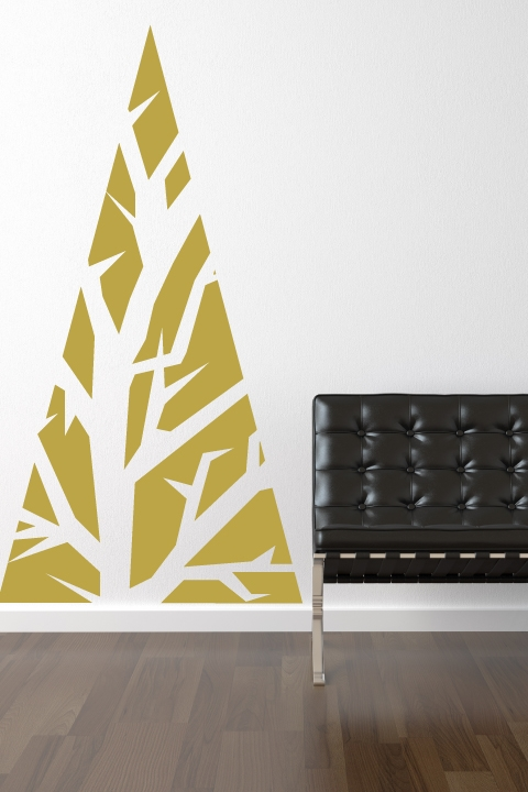 Seasonal Wall Decals | DIY Holiday Wall Decor