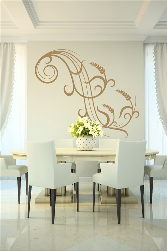 Wall Decals Wheat Accent Sticker