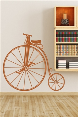 Wall Decals  Decorative Vintage Bicycle - Modern Wall Decal Design