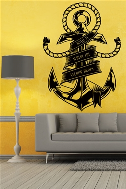 Wall Decals Anchor