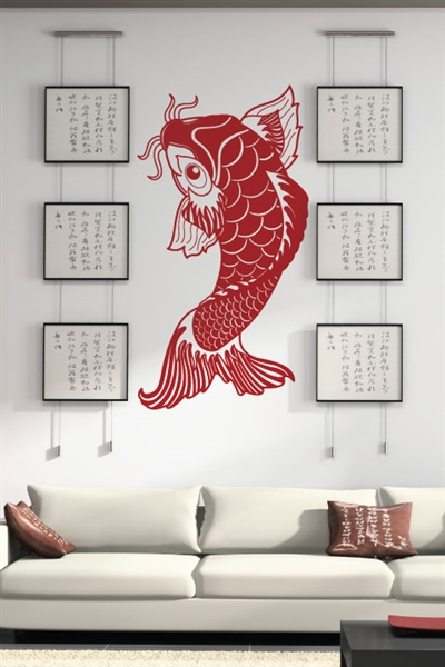 Wall Decals Koi Fish