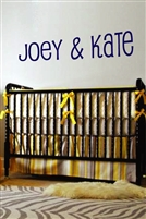 Kids Wall Decal Lettering Pupcat