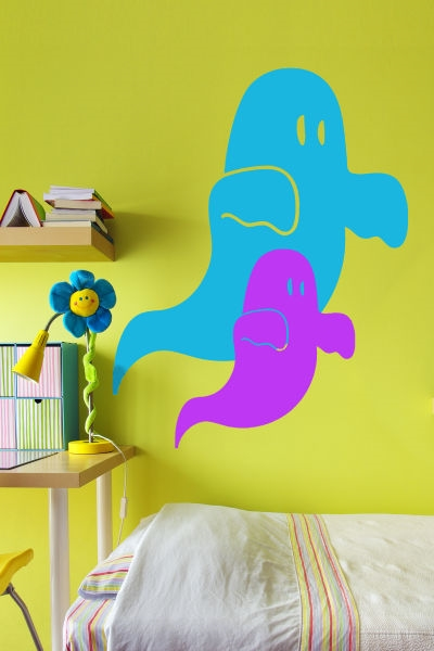 Adorable Ghosts Wall Art