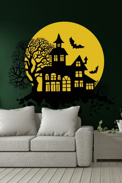 Moon Castle Wall Art