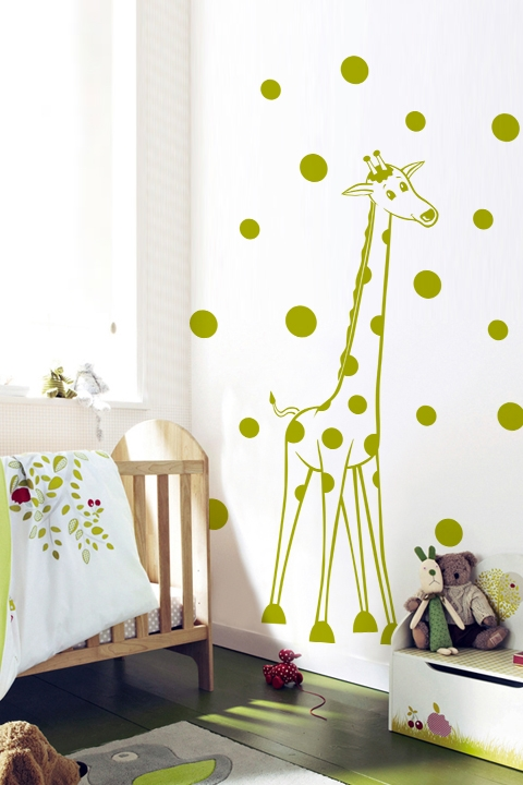 wall decals - giraffe spots | walltat