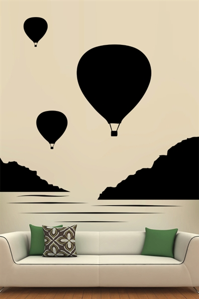 Wall Decals  - Balloon Bunch