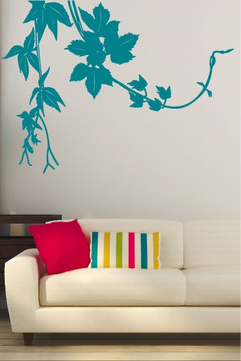 Wall Decals  - Organic Sketch Hanging
