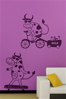 Wall Decals  - Cool Cows