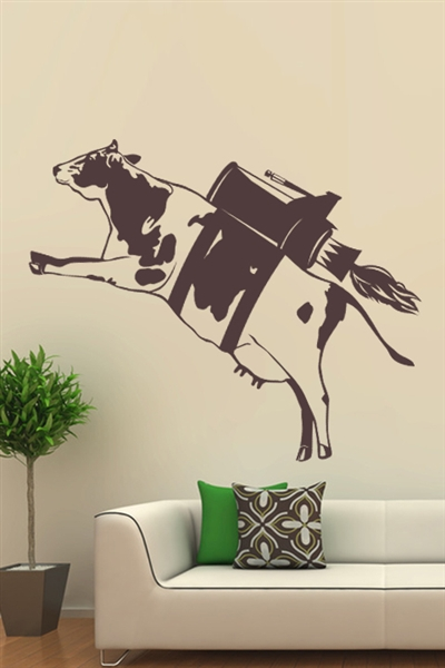 Wall Decals  - Floating Cows