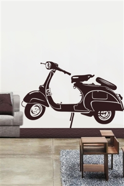 Wall Decals  - Scooter