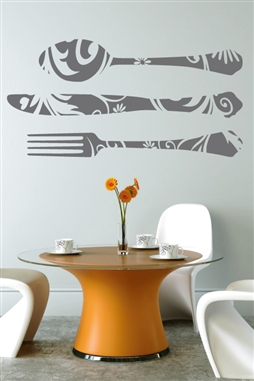 Wall Decals  - Silverware 1