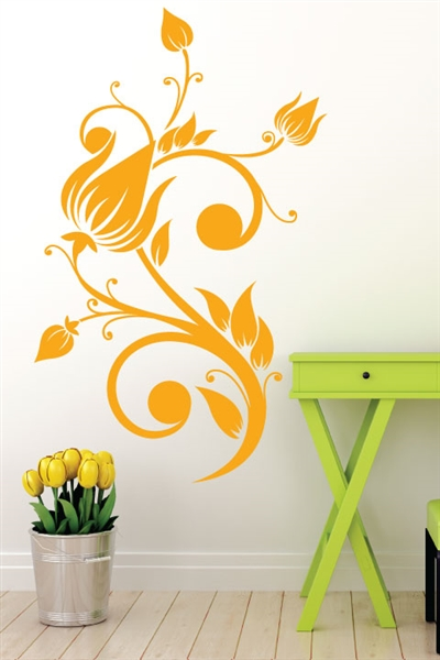 Wall Decals  - Flower Tree