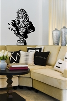 Sir Charles Bust Vintage Wall Decals