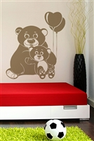 Wall Decals  - Bears and Cub