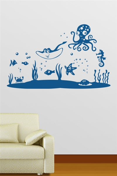 Wall Decals  - Ocean Life