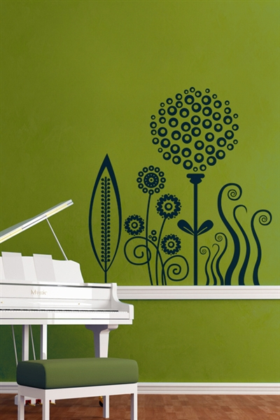 Wall Decals  Instant Garden