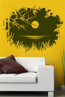 Wall Decals  Entry Through Branches