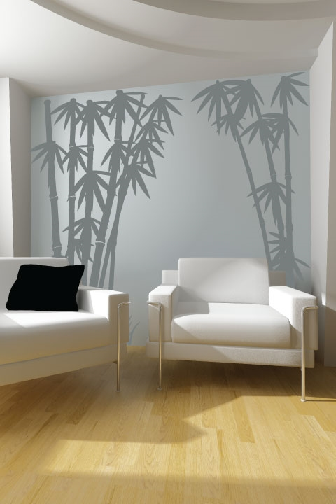 ... Wall Decals Bamboo 3 Part 57