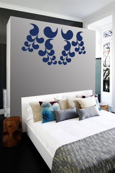 Wall Decals  Flower Wisps