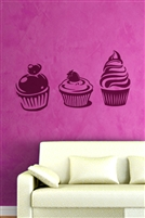 Cupcakes Wall Decals