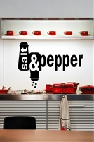 Salt and Pepper Wall Decals