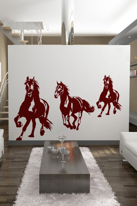 Wall Decals Running Horses WALLTATcom - Wall decals horses