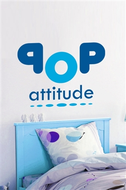 Pop Attitude Boy Wall Decals