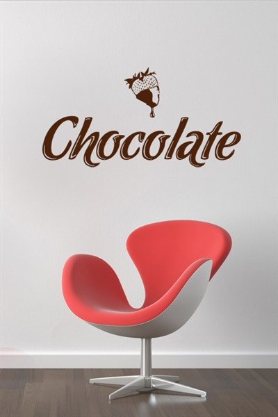 Chocolate Wall Decals