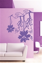 Wall Decals Vines with Birds
