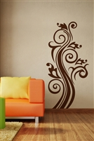 Wall Decals Swirls Graphic