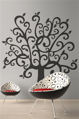 Wall Decals Whimsical Tree