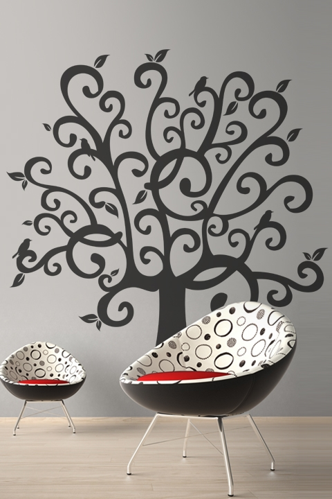 wall decals whimsical tree | walltat